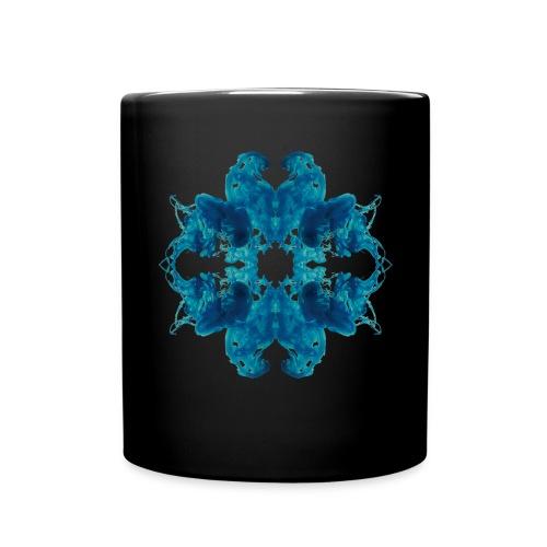 Tintenklecks unter Wasser - Tasse einfarbig