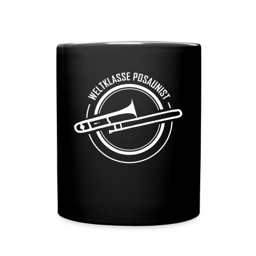 posaune at Design02 - Tasse einfarbig