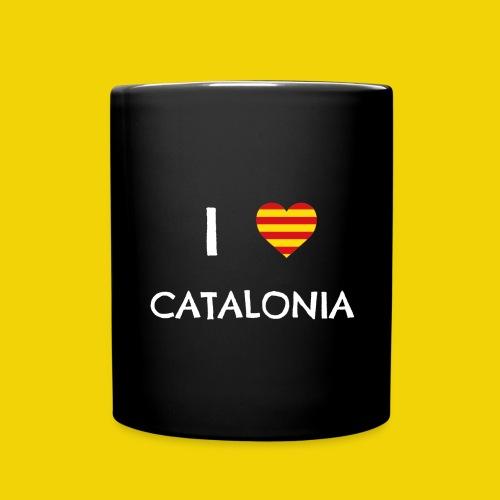 I Love Catalonia - Full Colour Mug