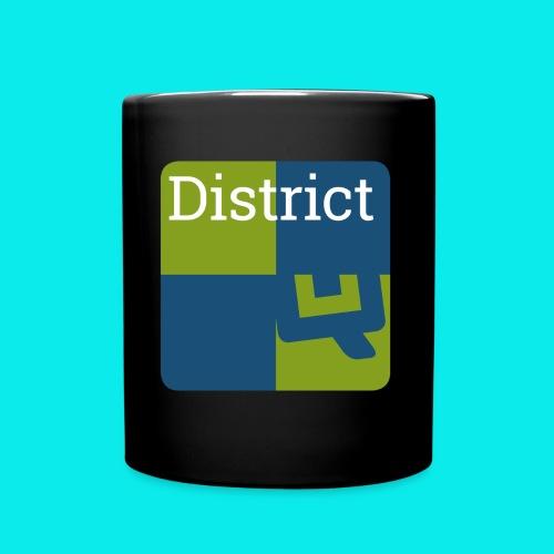 QWAPP District Logo - Tasse einfarbig