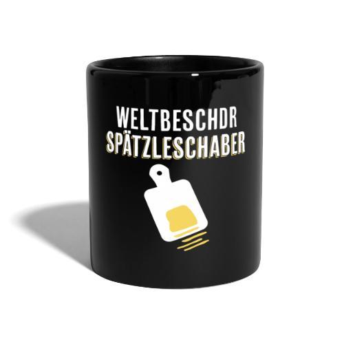 Spätzleschaber schwäbisches Geschenk kochen essen - Tasse einfarbig