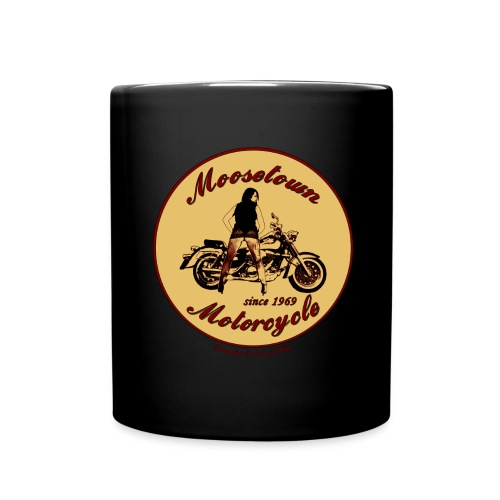 Moosetown Motorcycle png - Tasse einfarbig