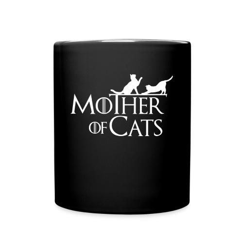 1 texto gatos eng w png - Taza de un color