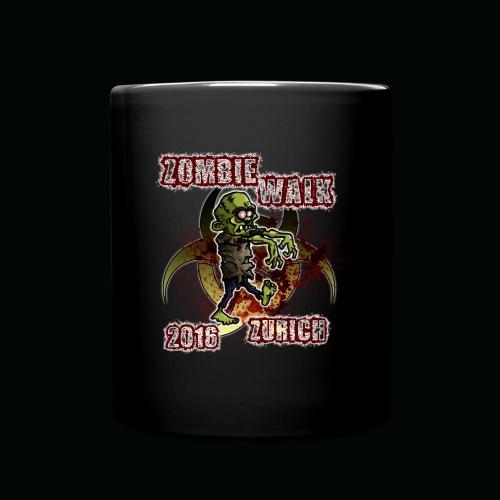 shirt zombie walk3 - Tasse einfarbig