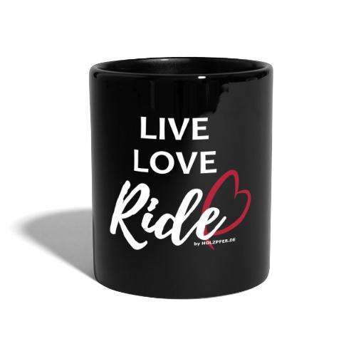 live love ride PFAD - Tasse einfarbig