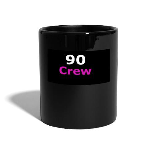 90 Crew Weiss Pink - Tasse einfarbig
