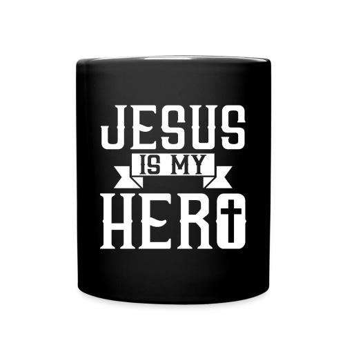 Jesus is my HERO - Christlich - Tasse einfarbig