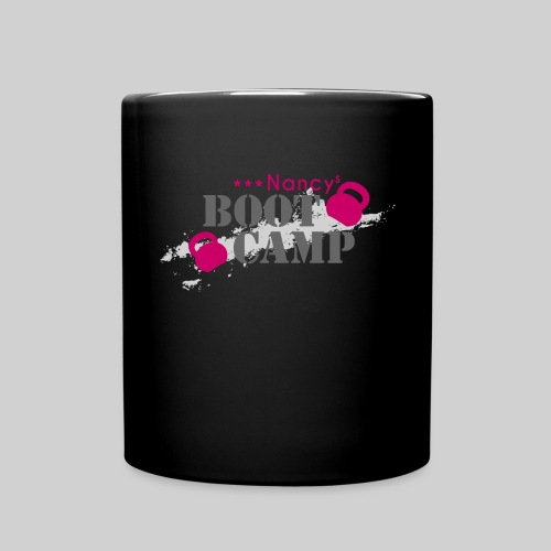 nancys bootcamp logo pink xxl transparent png - Tasse einfarbig