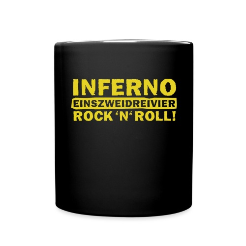 Inferno 1234 Rock n Roll 2014 p - Tasse einfarbig