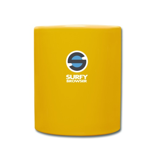 Surfy Browser with Text - Full Colour Mug