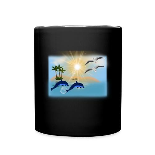 dolphin-310228__180 - Tasse einfarbig