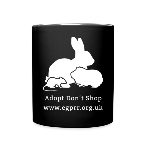 Adopt Don't Shop - Full Colour Mug