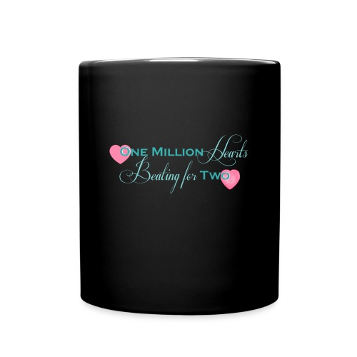 heartscolor png - Full Colour Mug