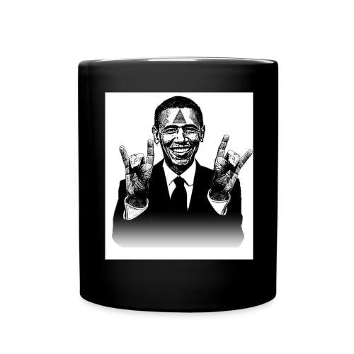 Barack Obama Illuminati - Tasse einfarbig
