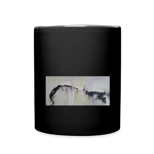 abstrakte - Tasse einfarbig