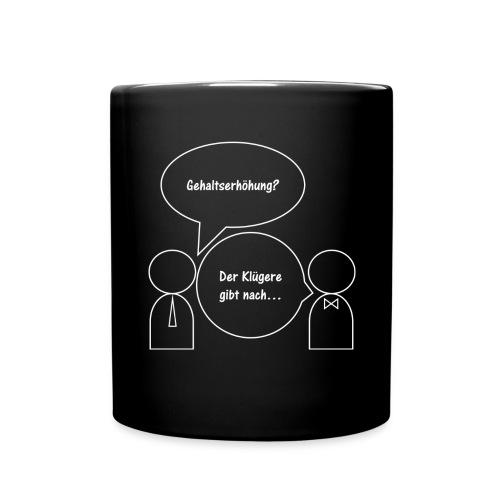 Gehaltserhöhung - Tasse einfarbig