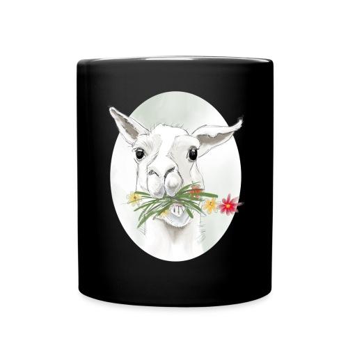 Lola Llama Nr.2 - Tasse einfarbig