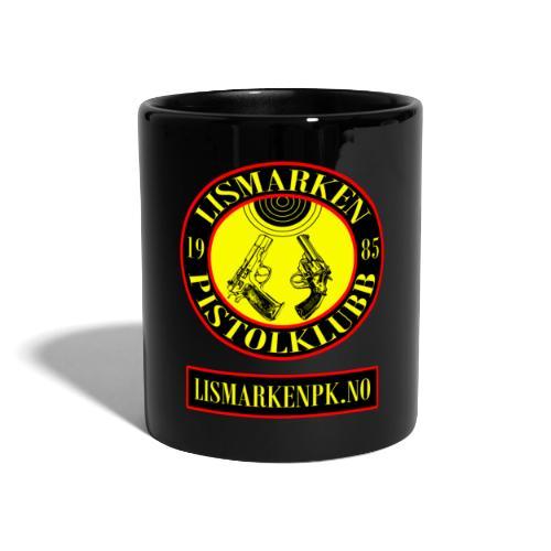 logo med nettadresse - Ensfarget kopp