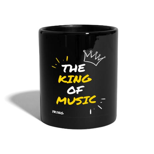 The king Of Music - Taza de un color