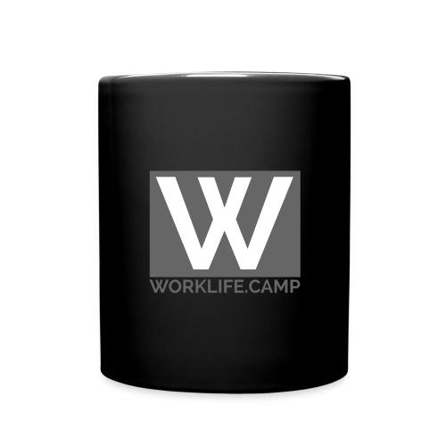 logo spread - Tasse einfarbig