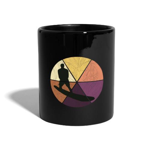 Wellenreiten - Tasse einfarbig