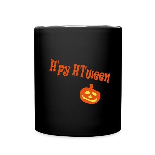 Happy Halloween - Tasse einfarbig