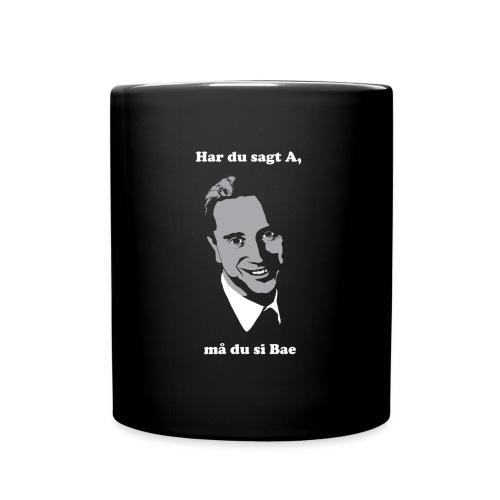 Har du sagt A, må du si Bae - Ensfarget kopp