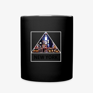 Triangle sur New York - Tasse en couleur