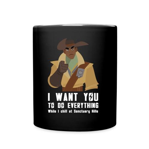 Fallout 4 Preston Meme - Full Colour Mug