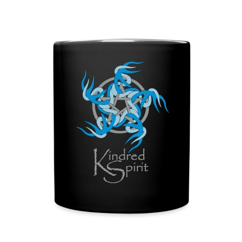 Kindred Spirit Symbol with Words - Full Colour Mug