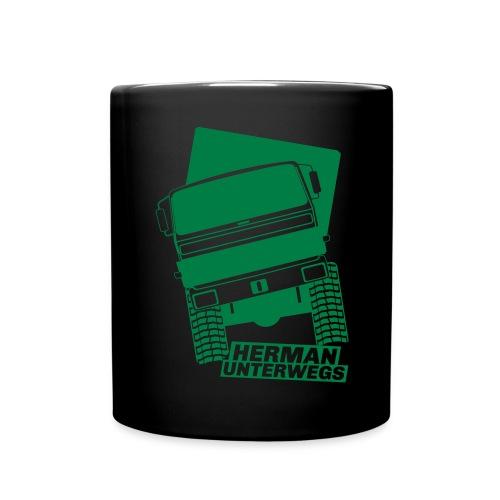 Herman unterwegs H3 - Tasse einfarbig