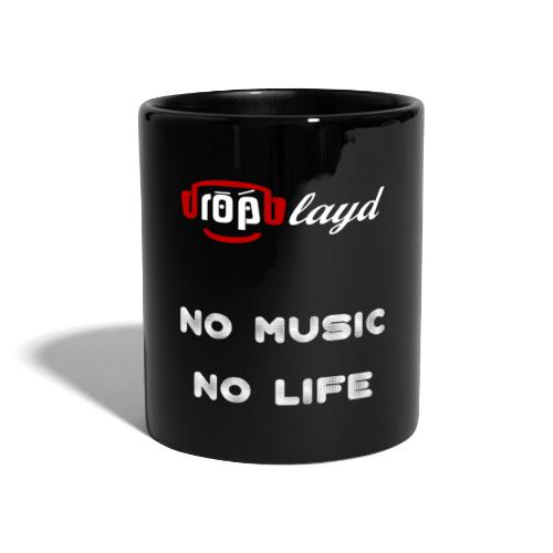 dropblayd Merch - No Music No Life - Tasse einfarbig