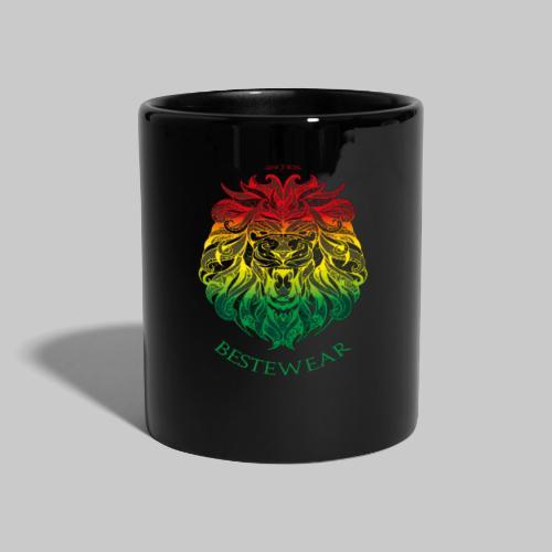 #Bestewear - Rastafari Lion - Tasse einfarbig
