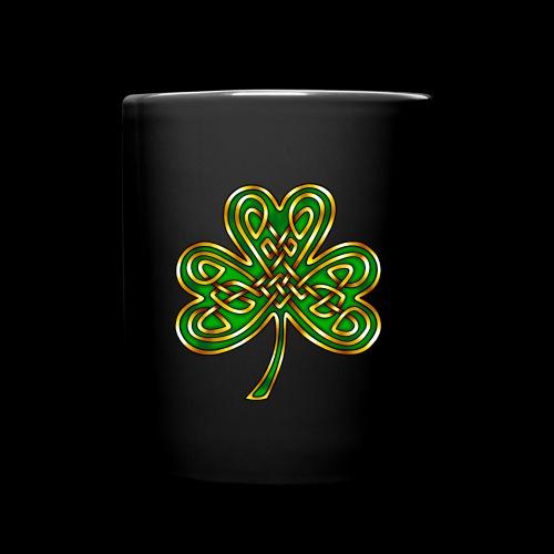 Celtic Knotwork Shamrock - Full Colour Mug