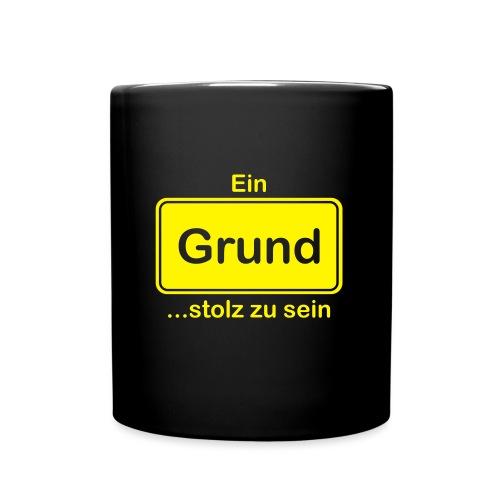 Grund_Shirts - Tasse einfarbig