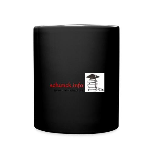 Schunck info - Tasse einfarbig