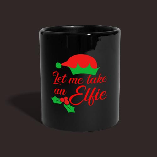 Weihnachten | Elf Mütze Weihnachtself Wortspiel - Tasse einfarbig