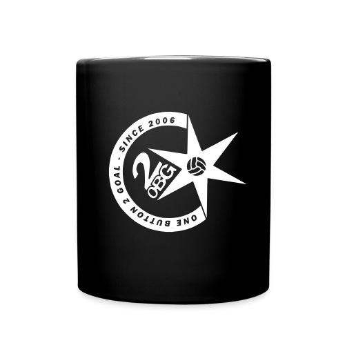 ob2g logo sw - Tasse einfarbig