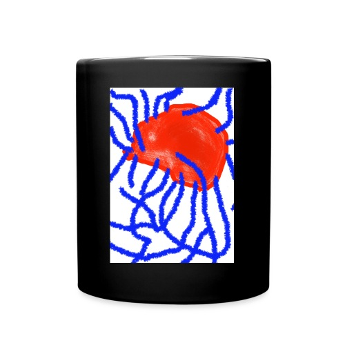 Red and Blue - Tasse einfarbig