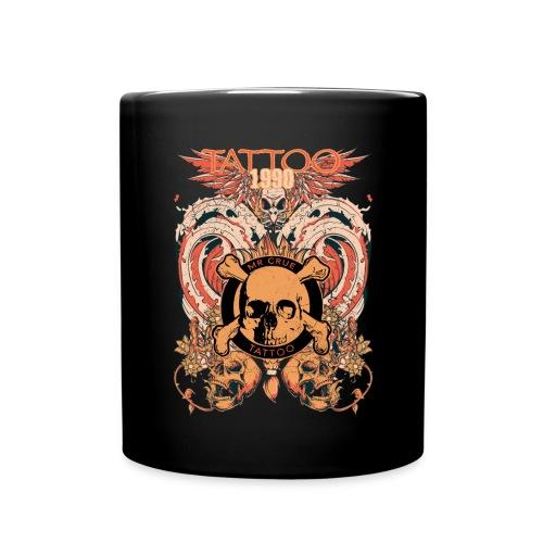 Mr Crue Skull Fire - Enfärgad mugg
