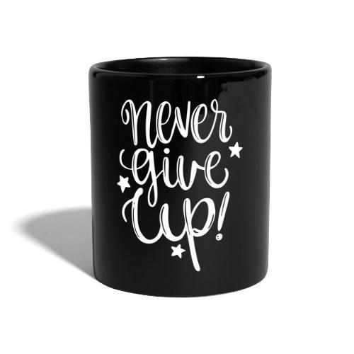 Never Give Up - Tazza monocolore