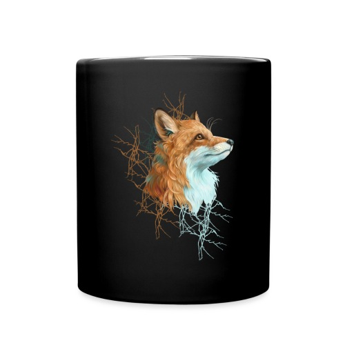 Happy the Fox - Tasse einfarbig