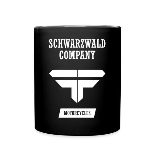 S.C. Motorcycles Schwarzwald Company - Tasse einfarbig