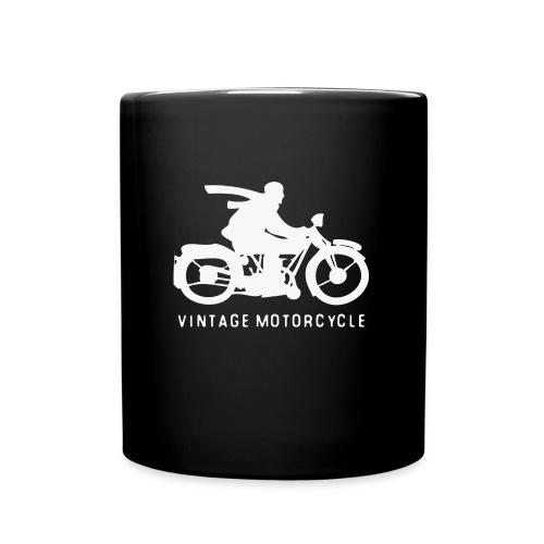 vintage motorcycle - Tasse einfarbig