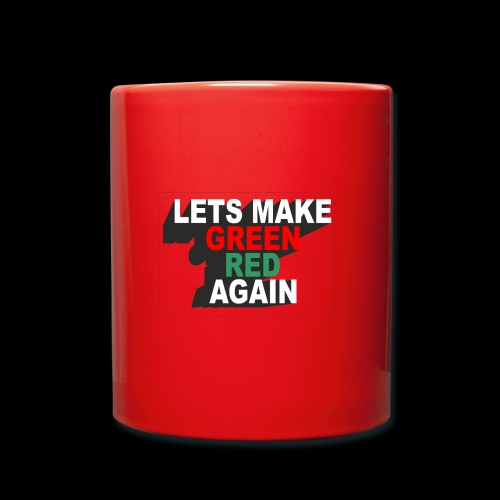 GREEN RED AGAIN - Full Colour Mug