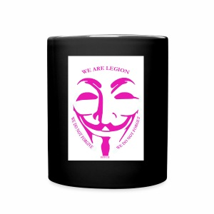 Anonymous pink bitch case - Full Colour Mug