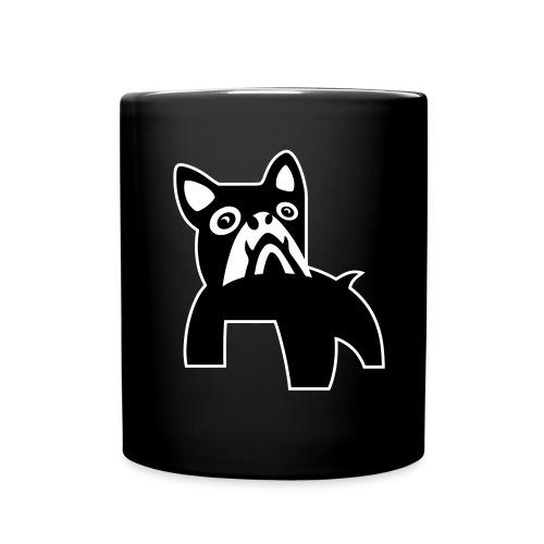 MadDog_kunst mit hund_out - Tasse einfarbig