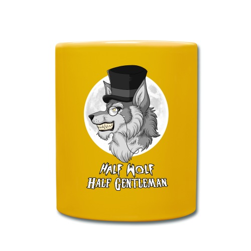 Half Wolf Half Gentleman - Kubek jednokolorowy