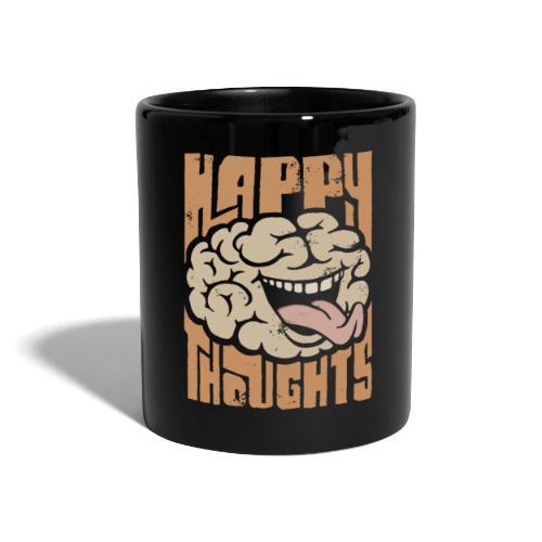 Happy Thoughts - Enfärgad mugg