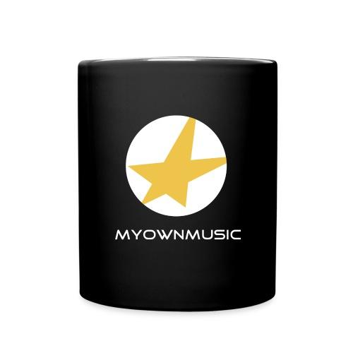 MOM Logo Weiß - Tasse einfarbig